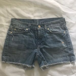7 for all Mankind jean short